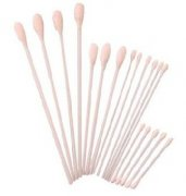 "6"" Cotton Swabs With Plastic Stick"
