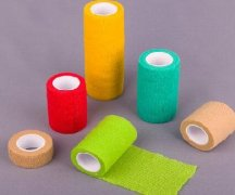Non Woven and Cotton Cohesive Flexible Bandage