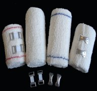 Medical Crepe Elastic Bandage with Clip